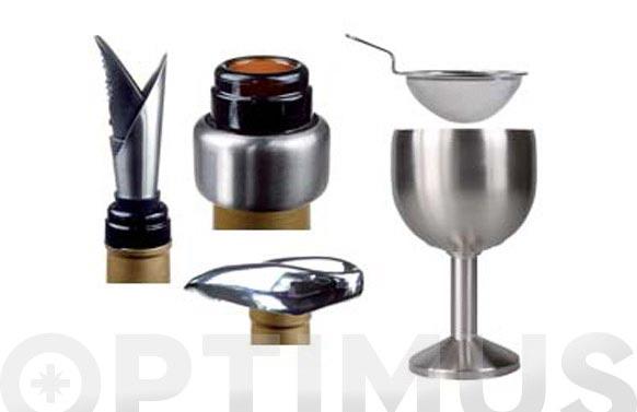 Accesorios de vino ambit 6 piezas - ws006
