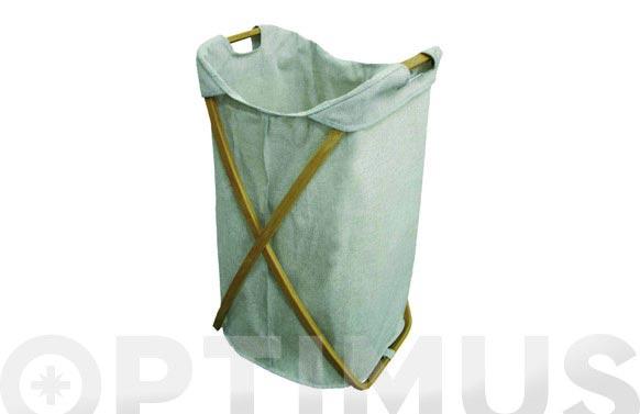 Cubo para ropa plegable 39 x 46 x 66 cm