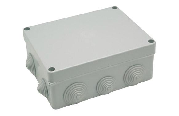 Caja estanca ip55 10 conos 220 x 170 x 85 mm