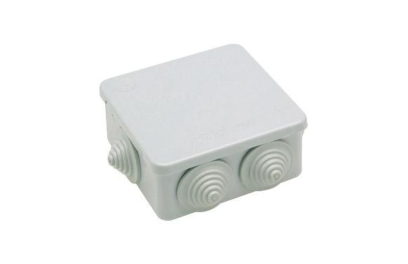 Caja estanca ip55 7 conos 100 x 100 x 45 mm
