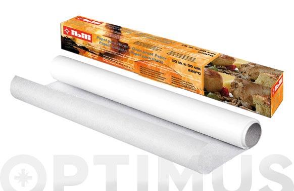 Papel para horno 10 m x 30 cm
