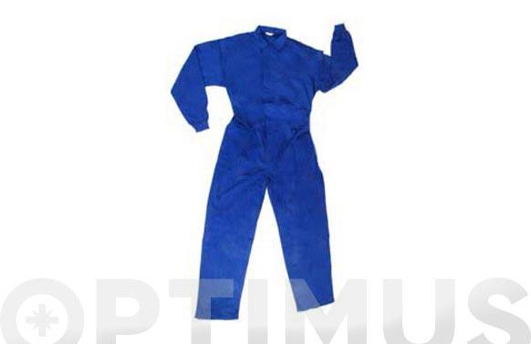 Buzo basico algodon 220 grs t 66 azulina