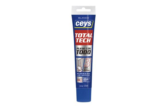 Masilla ms-tech tubo blanco 125 ml