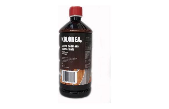 Aceite linaza con secante 1 l