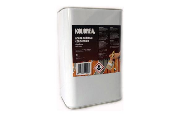 Aceite linaza con secante 5 l