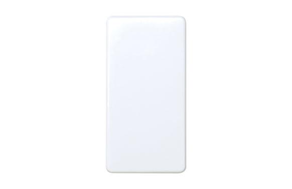 Conmutador estrecho blanco serie 27