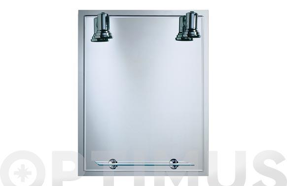 Espejo luminoso lux-11 b-808 75 x 60 cm