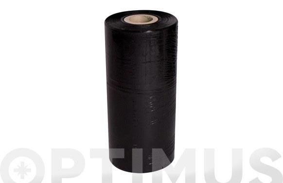 Film extensible automatico negro 23 micras 50 cm 16 kg