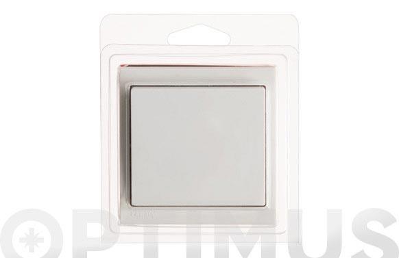 Conmutador superficie 10a-250v blanco