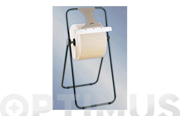 Portabobina papel celulosa suelo