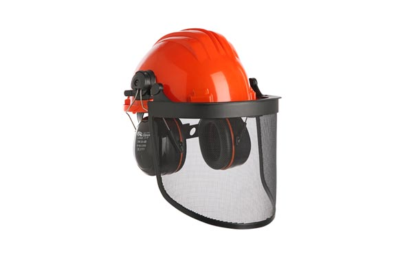 Casco forestal 437 complet pantalla y protector auditivo 30db