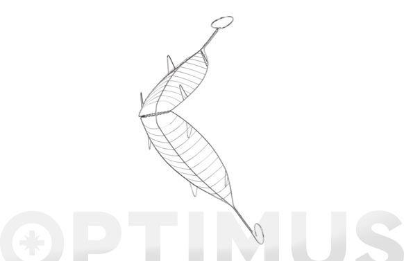 Parrilla besuguera inox 54 x 13,5 cm
