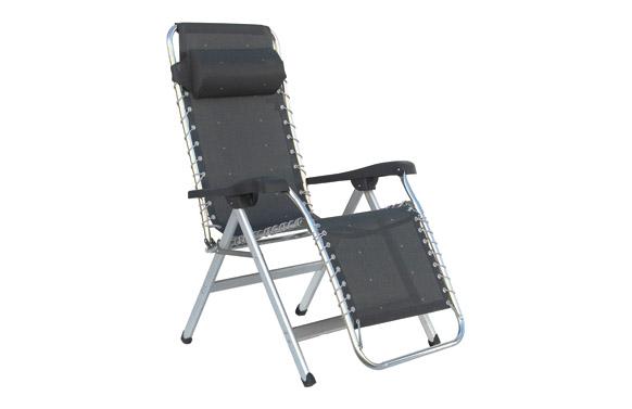 Sillon relax reforzado aluminio multiposiciones color 40