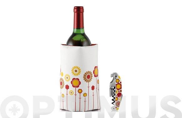 Enfriador botellas + sacacorchos