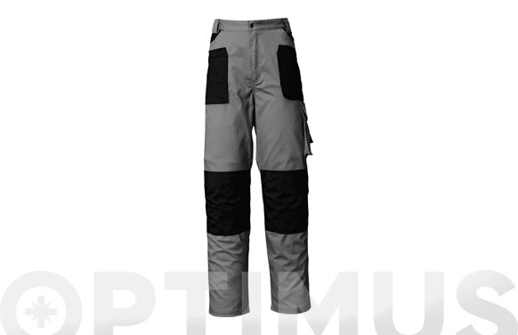 Pantalon stretch gris t. l