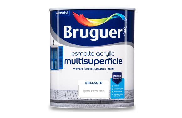 Esmalte acrylic brillante 750 ml blanco permanente