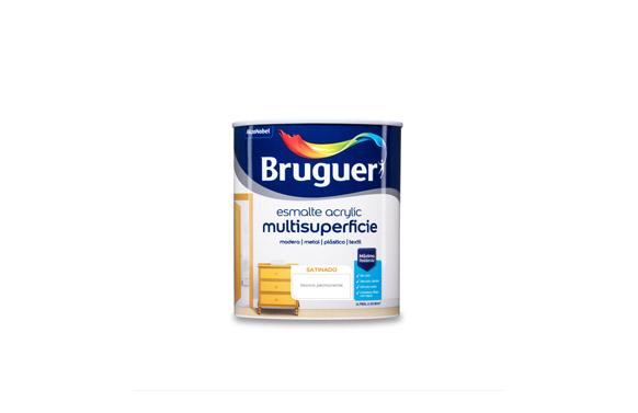 Esmalte acrilic satinado 750 ml blanco permanente