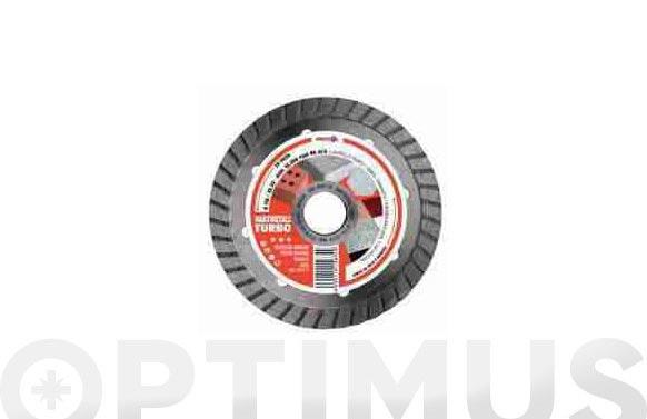 Disco diamante standard turbo gres 115 mm hardmetall