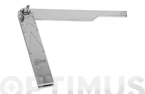 Falsa escuadra zinc 200 mm