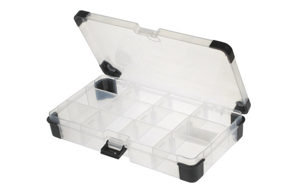 Clasificador plastico con cantoneras anti chock 110 x 200 x 30 mm
