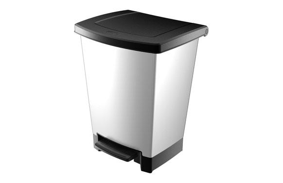 Cubo pedal metal decobin 2 metal 24 l