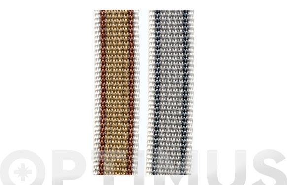 Cinta persiana bicolor 5 m x 22 mm