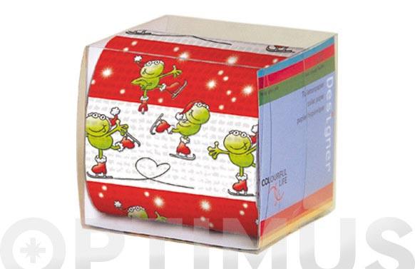 Papel wc caja individual regalo ranita