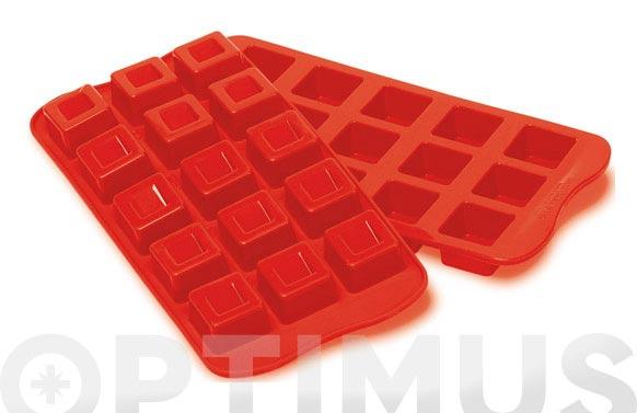 Molde bombones silicona ambit cubo-scg02
