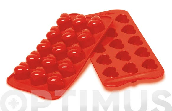Molde bombones silicona corazon-scg1