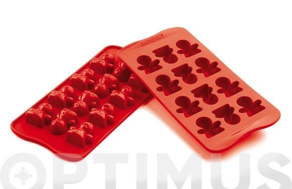 Molde bombones silicona ambit muñeco-scg15