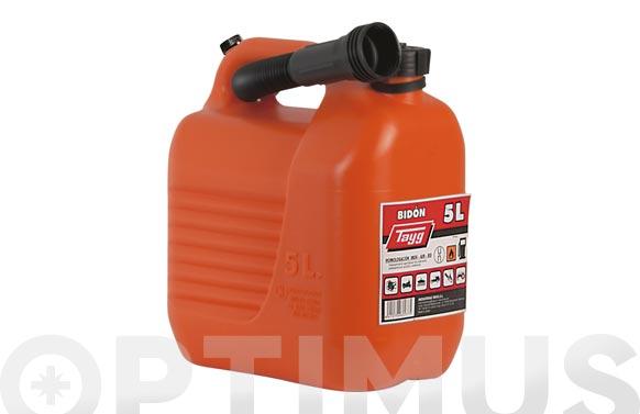 Bidon con canula para combustible 5 l