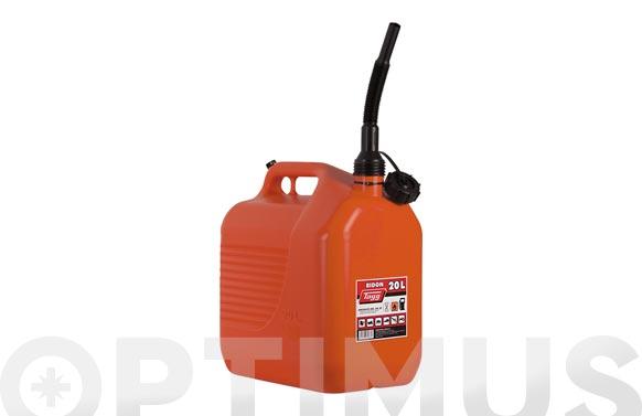 Bidon con canula para combustible 20 l