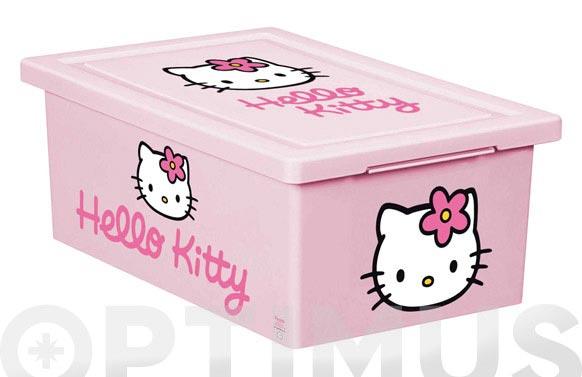 Caja multiusos hello kitty 18,5x29x11 cm