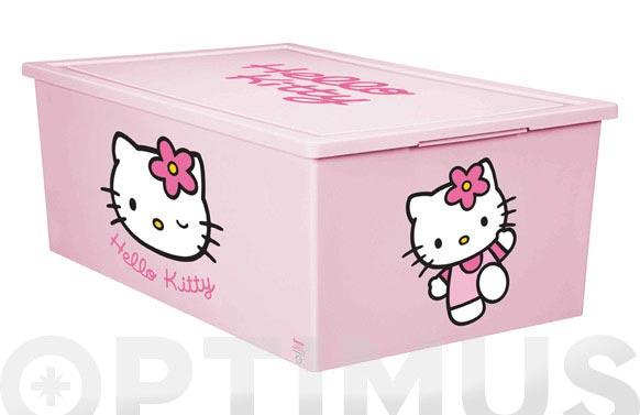 Caja multiusos dec.hello kitty 37x58x22