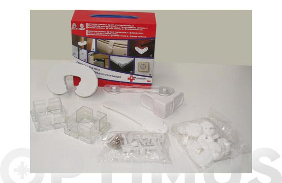 Protector del hogar infantil kit 30 piezas