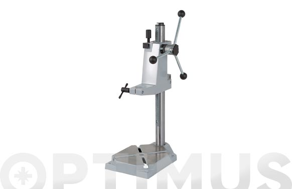Soporte para taladro universal metalico ø 43 mm placa 203x307 mm