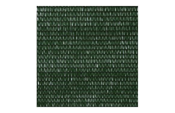 Malla ocultacion pe/rf 80. 2 x 10 m verde oscuro