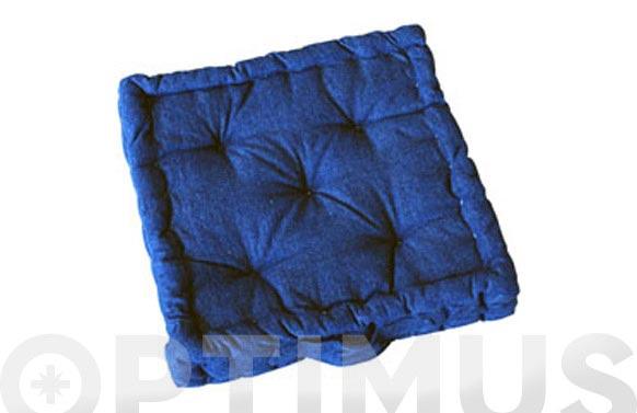 Cojin colchon lineal 40x40 cm 1600-jeans