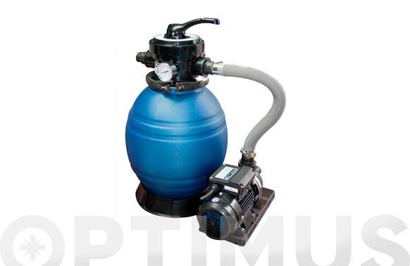 Filtro piscina monobloc con bomba d.400-0,35 hp