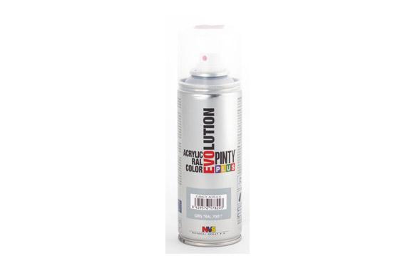 Pintura spray acrilica evolution 270 cc ral7001 gris brillo