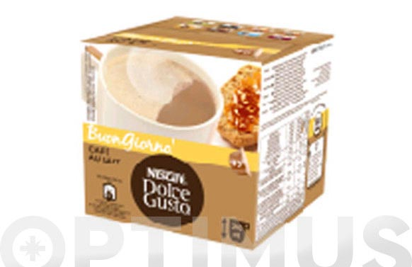 Capsula dolce gusto pack 16 uds cafe con leche