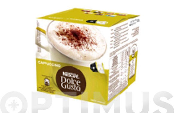 Capsula dolce gusto pack 8 + 8 uds cappuccino