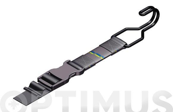 Pulpo ajustable alta calidad 1500 x 25 mm. resistencia hasta 100 kg