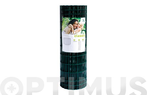 Malla jarditor classic verde 100x50 mm altura 60 cm