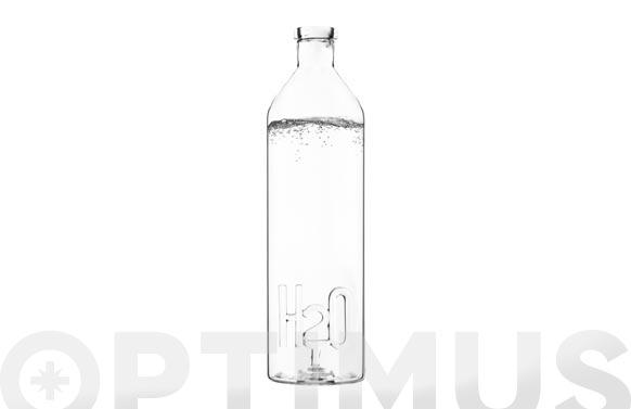Botella borosilicato h2o 1,2 l
