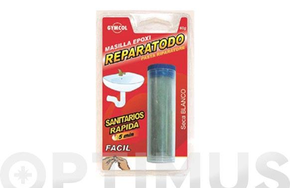 Masilla reparatodo sanitarios tubo 60 gr