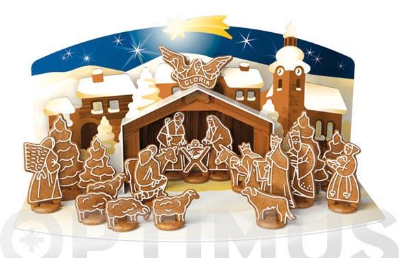 Cortapastas delicia navidad portal belen