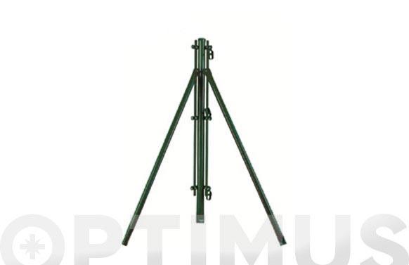 Poste esquina/refuerzo d.48mm 150cm verde