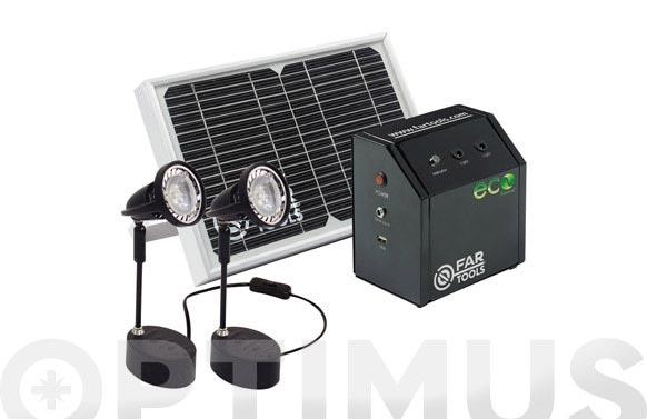 Sistema energia solar ecosource mini