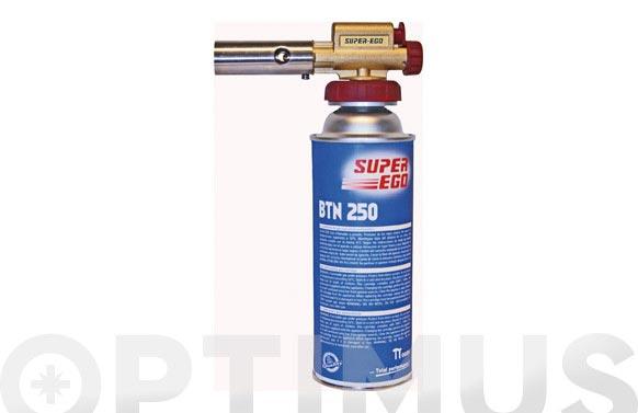 Cartucho gas con valvula 250 ml btn250/227gr